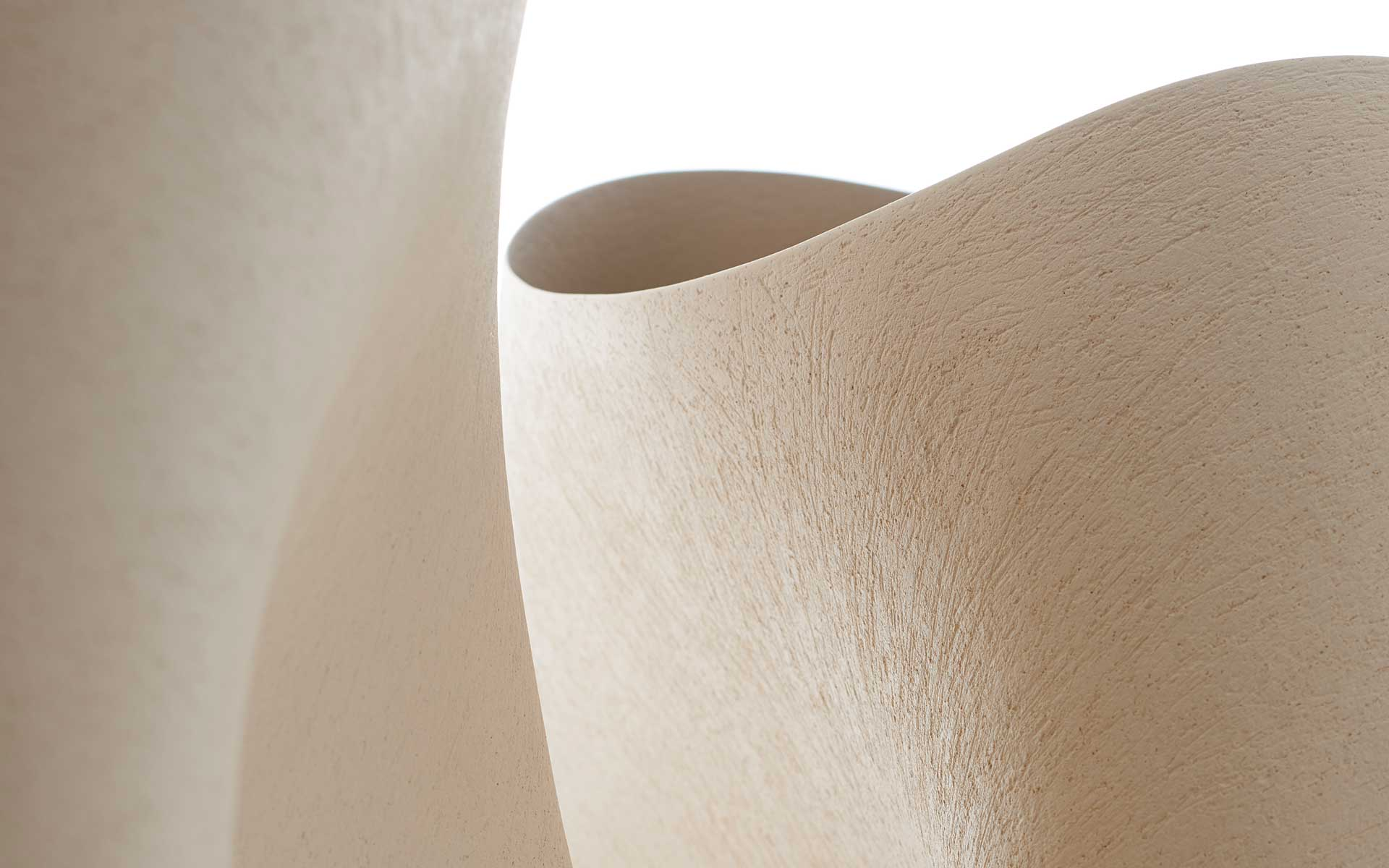 Two Leaning Vessels - Detail